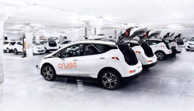 GM Cruise, servicio de Taxi autónomo de GM