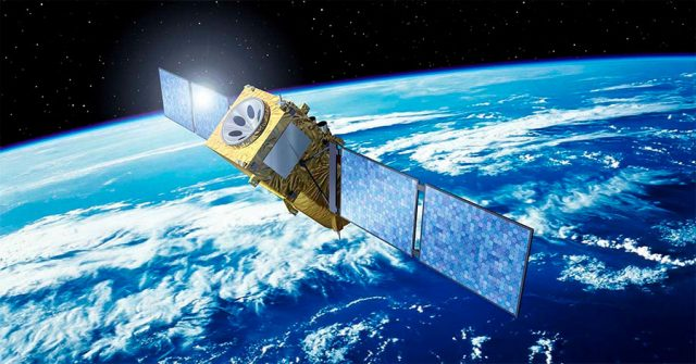 Satelite GPS para posicionamiento