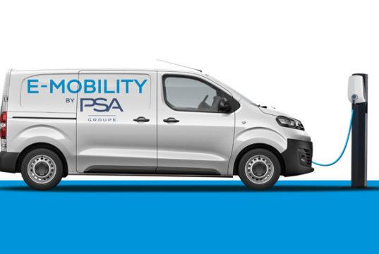 Las versiones eléctricas de las furgonetas de las marcas del Grupo PSA llegarán en 2020