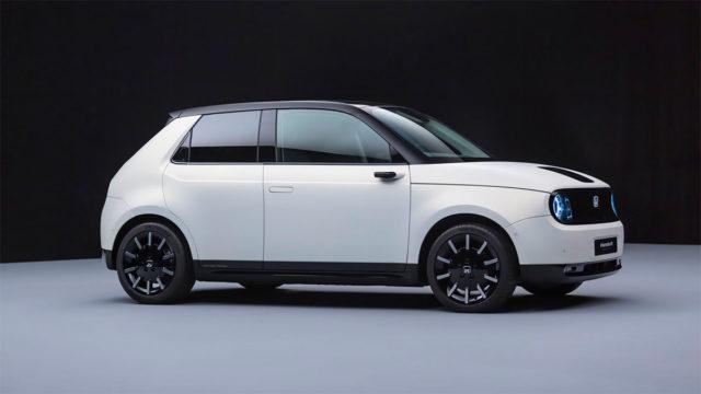 Foto del Honda e, coche eléctrico de Honda