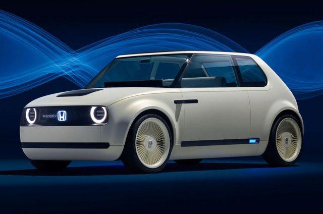 Imagen del Honda Urban EV, el primer coche 100% eléctrico de Honda