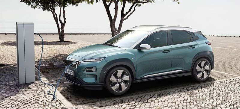 imagen del Hyundai Kona eléctrico