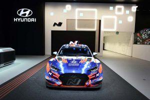 foto del Hyundai Veloster N ETCR de frontal