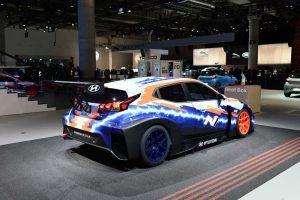 foto del Hyundai Veloster N ETCR trasera