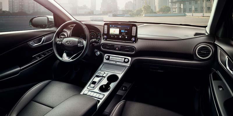 Interior del Hyundai KONA EV