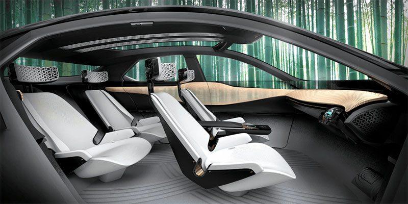 Interior del Concept del Nissan Kuro