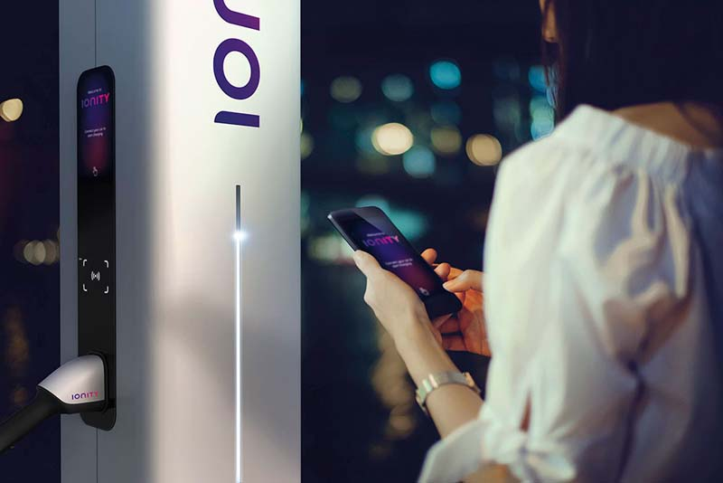 Ionity - concept - phone