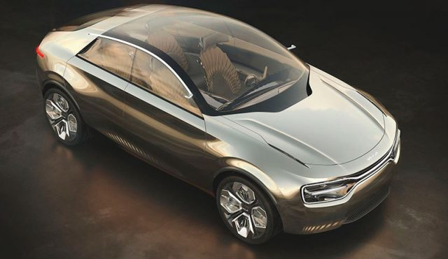 Foto del concept Kia by Imagine de vista superior
