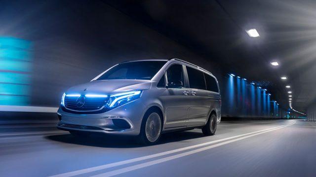 Mercedes-Benz EQV exterior