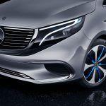 Mercedes-Benz EQV detalle de La Luz