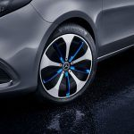 Mercedes-Benz EQV detalle rueda