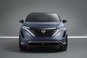 Frontal del Nissan ARIYA