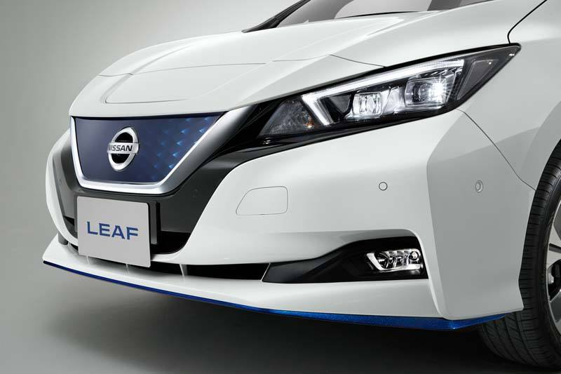 Nissan-Leaf-e+_CES-2019_exterior-parte-delantera
