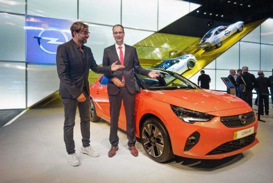 Opel Corsa e en el IAA 2019