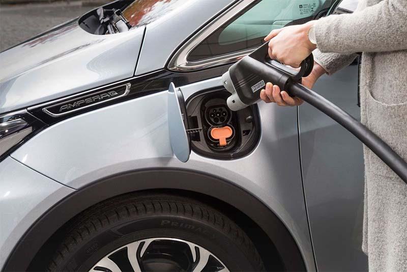 Puntos de carga de Opel