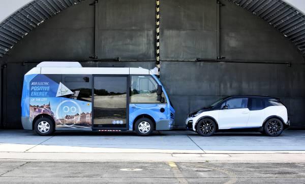 Jest Electric y BMW i3 enfrentados