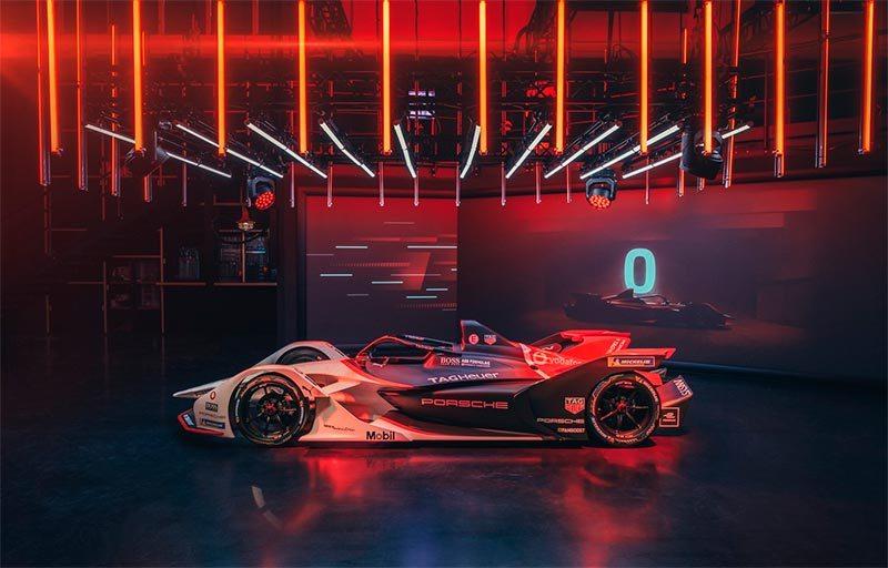 Formula E - monoplaza Porsche Electric 99X