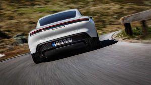 Trasera Porsche Taycan