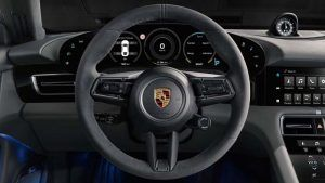 Volante del Porsche Taycan