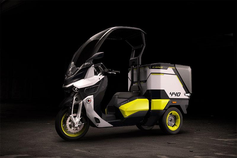Rapide3, moto eléctrica de Gaius Auto