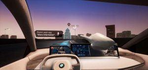 Realidad-virtual-desmotracion-sistema-interaccion-natural-multimodal-BMW-persentado-MWC2019-Barcelona-informacion-obtenida-vehiculo-al-preguntar-algo2