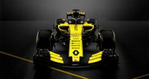 Foto del monoplaza del equipo Renault