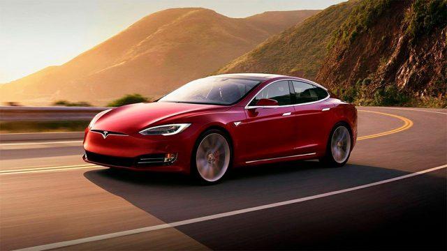Imagen del Tesla Model S, el coche eléctrico con más autonomía