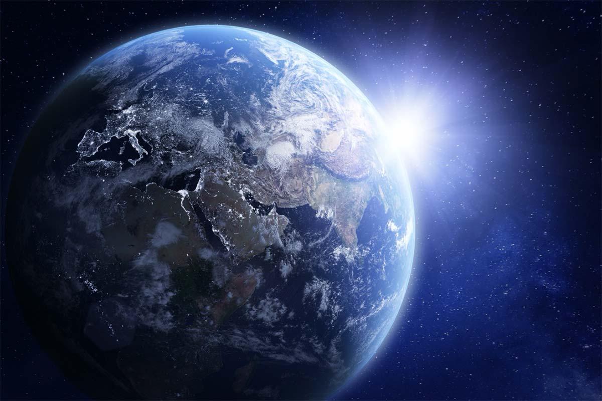 Foto de la Tierra vista desde el Espacio