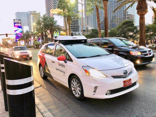 Yandex-pruebas-conduccion-autonoma-las-vegas-ces-2019