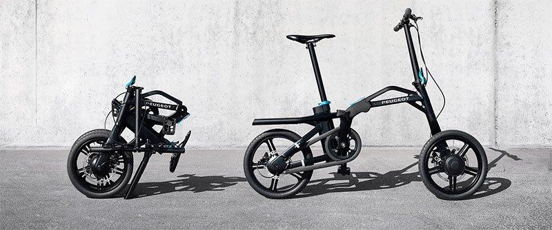 Bicicleta eléctrica eF01 de Peugeot