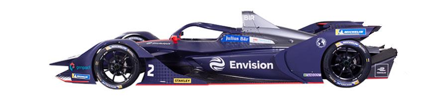 Coche de Envision Virgin Racing