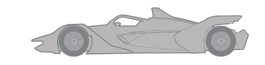 Coche de Venturi Formula E Team
