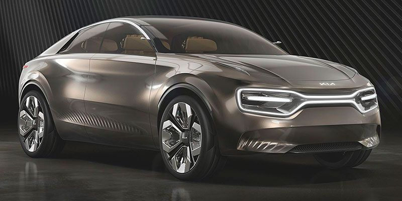 Foto del concept Kia by Imagine de vista frontal