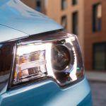 Detalle de la luz del MG ZS EV