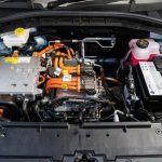 Foto del motor eléctrico del MG ZS EV