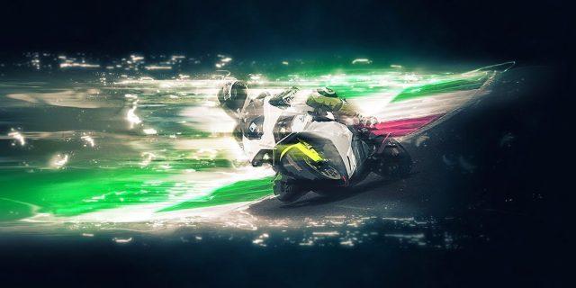 Competición de MotoGP con motos eléctricas
