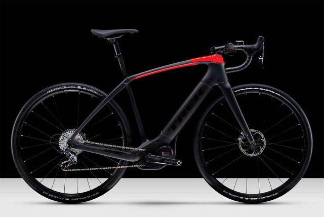 Bicicleta de carretera eléctrica - Trek Domane+